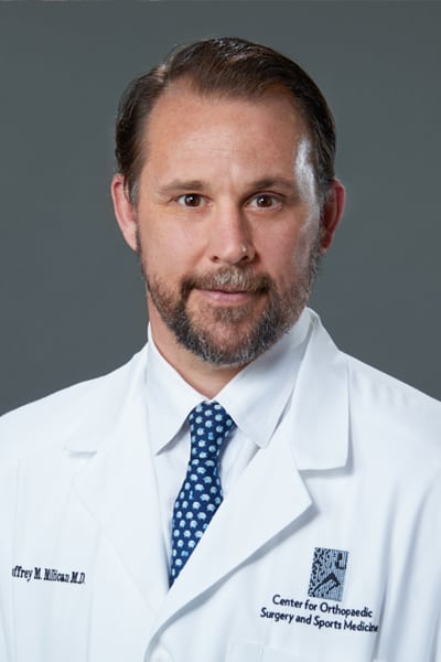 Dr. Geoffrey Millican - Center for Orthopaedic Surgery and Sports Medicine - sports medicine specialist